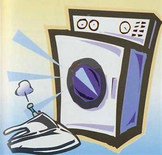 lavandería en residencia