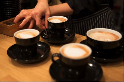cafetería en residencia de estudiantes