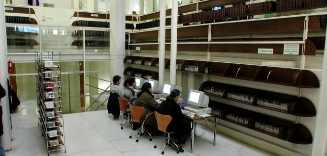 Estudiar en bibliotecas de Granada