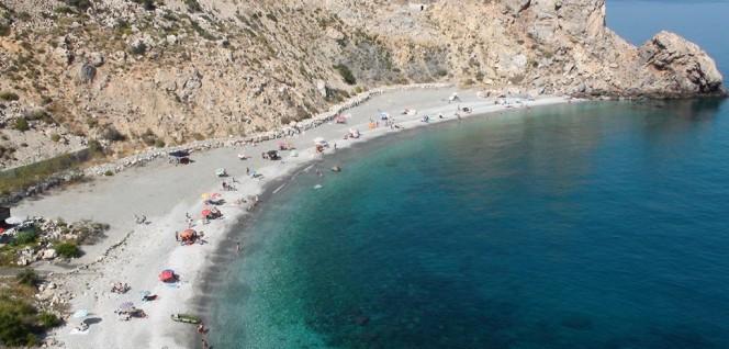 imagen de la costa granadina, muy cercana a la capital donde se encuentra la residencia de estudiantes Sócrates 10